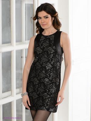 Платье Levall. Цвет: черный, антрацитовый