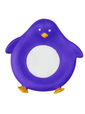 Все для Ванной - Подставка мыла Пингвинчик Склад Уникальных Товаров. Цвет: синий