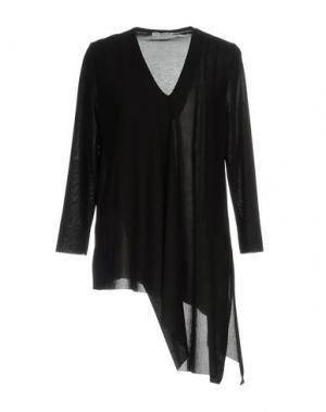Блузка HOPE COLLECTION. Цвет: черный