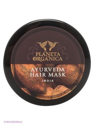 Маска для волос густая, золотая, аюрведическая 300 мл. PLANETA ORGANICA. Цвет: бежевый