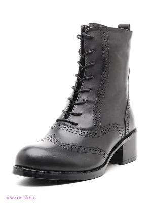 Ботинки Atiker. Цвет: черный