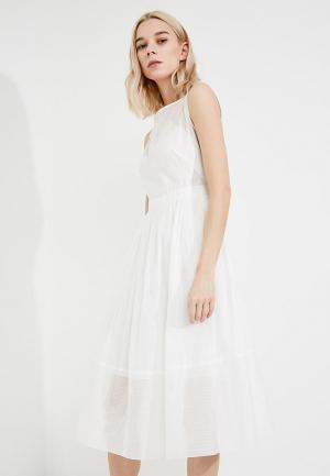Платье Terekhov Girl. Цвет: белый