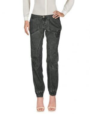 Повседневные брюки TAKE-TWO. Цвет: темно-фиолетовый
