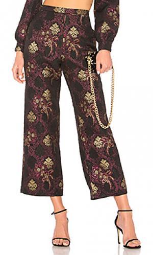 Широкие брюки pant 518 LPA. Цвет: черный