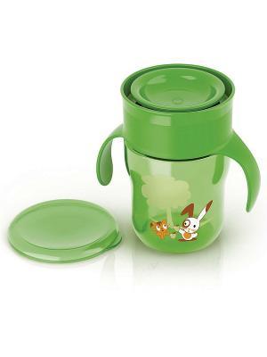 Взрослая чашка Philips Avent SCF782/00, 260 мл, 9 мес.+. Цвет: зеленый