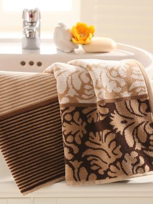 Полотенце OZDILEK. Цвет: коричневый