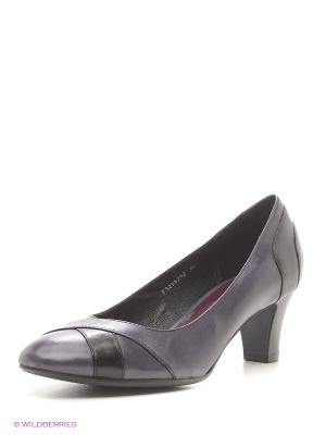 Туфли Covani. Цвет: черный, темно-синий, темно-фиолетовый