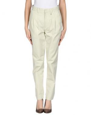 Повседневные брюки WESC. Цвет: бежевый