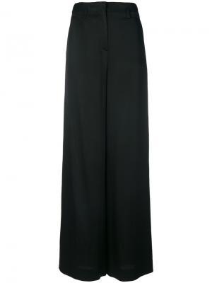 Широкие брюки Lanvin. Цвет: чёрный