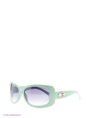 Солнцезащитные очки Vittorio Richi. Цвет: светло-зеленый