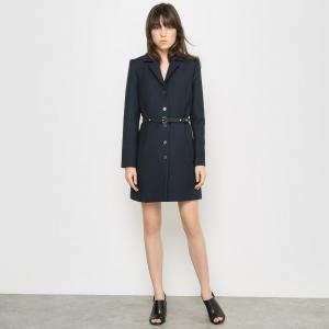 Пальто Carven x La Redoute. Цвет: синий морской