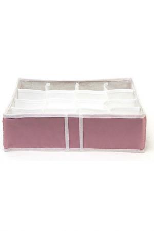 Органайзер 16 ячеек HOMSU. Цвет: розовый