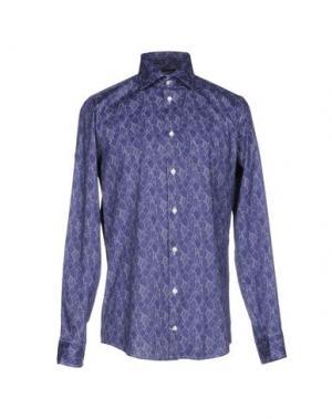 Pубашка RICHARD JAMES. Цвет: темно-фиолетовый