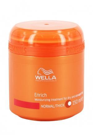 Маска для волос Wella. Цвет: оранжевый