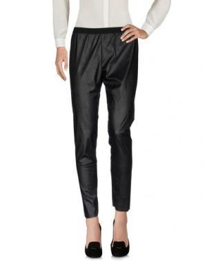Повседневные брюки CQFP. Цвет: черный