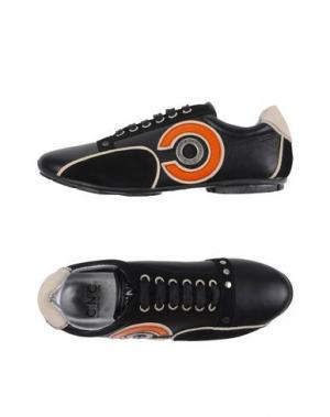 Низкие кеды и кроссовки C'N'C' COSTUME NATIONAL. Цвет: черный