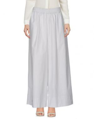 Повседневные брюки STEFANO MORTARI. Цвет: светло-серый