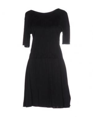Короткое платье KRISTINA TI. Цвет: черный