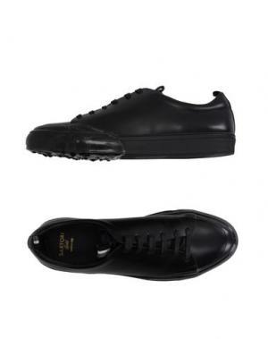 Низкие кеды и кроссовки SARTORI GOLD. Цвет: черный
