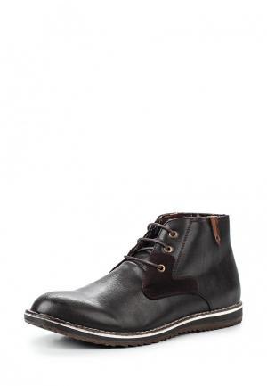 Ботинки Montefiori. Цвет: коричневый