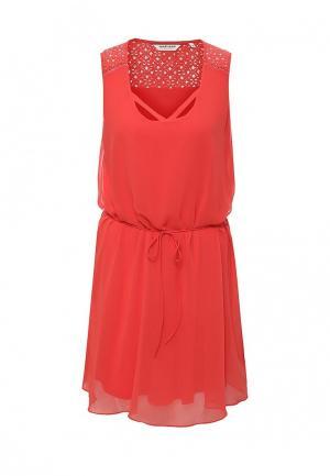 Платье Naf. Цвет: красный