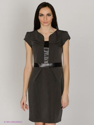 Платье Capriz. Цвет: серый