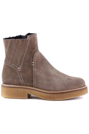 Ботинки Repo. Цвет: светло-коричневый