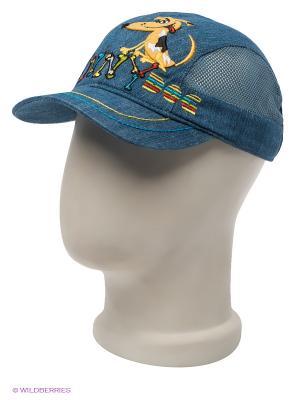 Бейсболка Maxval. Цвет: синий, бежевый