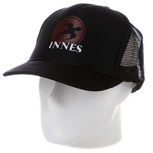 Бейсболка  High Black Innes. Цвет: черный