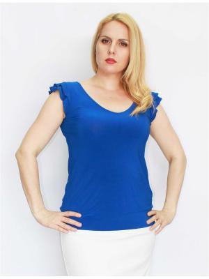 Блузка Pelagueya. Цвет: синий