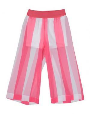 Повседневные брюки MONNALISA. Цвет: светло-фиолетовый