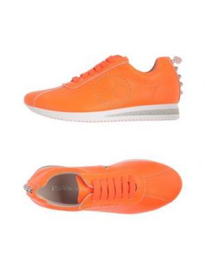 Низкие кеды и кроссовки FLORENS. Цвет: оранжевый