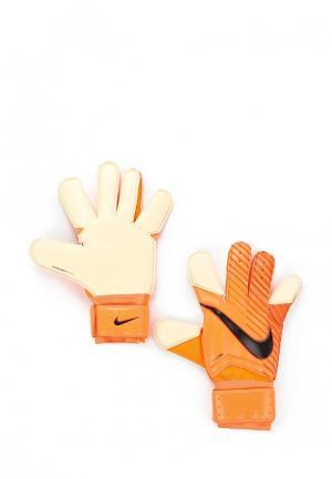 Перчатки вратарские Nike. Цвет: оранжевый