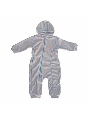 Комбинезон для малышей ЛисФлис. Цвет: серый, синий