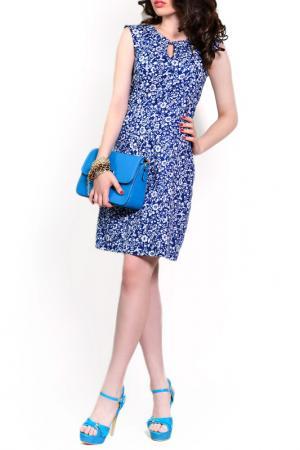 Платье FRANCESCA LUCINI. Цвет: сапфировый