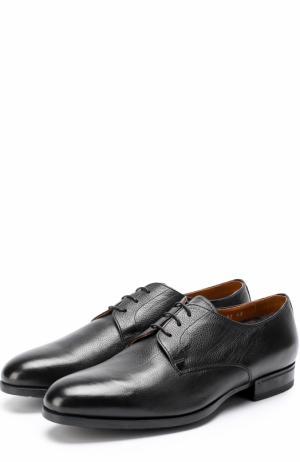 Классические кожаные дерби Doucals Doucal's. Цвет: черный