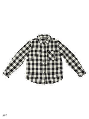Рубашка Sisley Young. Цвет: черный