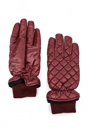 Перчатки Modo Gru. Цвет: бордовый