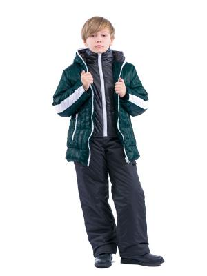 Куртка VELFI. Цвет: темно-зеленый