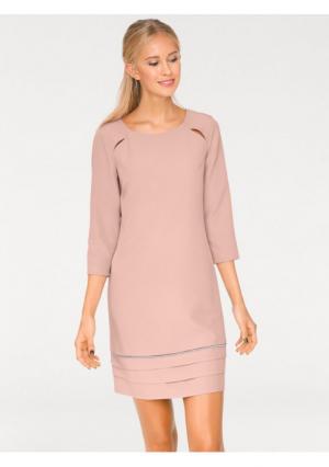 Платье-футляр B.C. BEST CONNECTIONS by Heine. Цвет: розовый