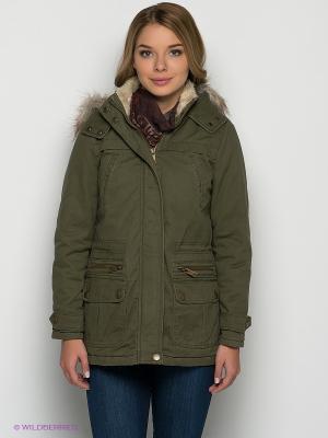 Куртка New Look. Цвет: хаки