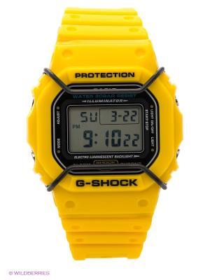 Часы G-Shock CASIO. Цвет: желтый