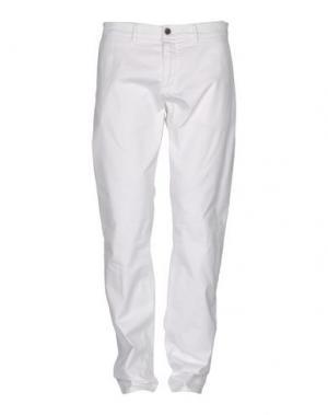 Повседневные брюки HAMPTONS. Цвет: белый