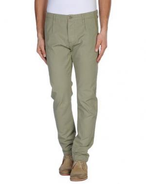 Повседневные брюки NOVEMB3R. Цвет: зеленый