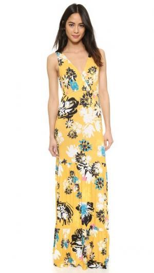 Платье Dress to Impress Yumi Kim. Цвет: принт calligraphy