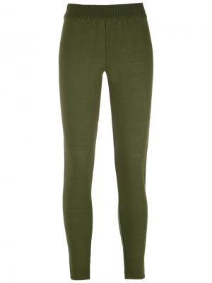 Knitted leggings Reinaldo Lourenço. Цвет: зелёный