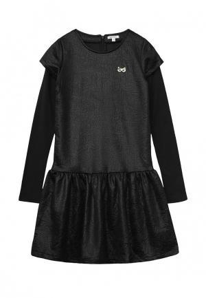 Платье 3 Pommes. Цвет: черный