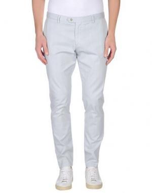 Повседневные брюки MAESTRAMI. Цвет: светло-серый