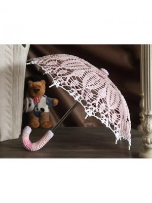 Интерьерный зонт Нежность Локсы. Цвет: бледно-розовый