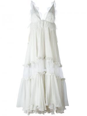 Myrh dress Maria Lucia Hohan. Цвет: серый